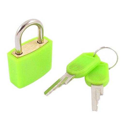 Cerradura del gabinete de Jewlery caja del cajón Maleta Seguridad Candado verde w Teclas - - Amazon.com