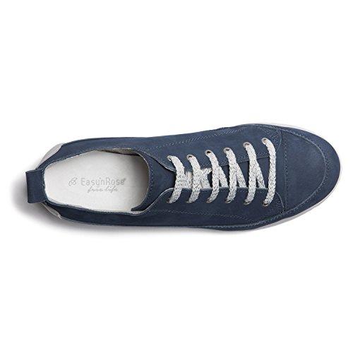 Easy'n per Dark White Rose Denim Sneakers 003 Donna 394 a7aBgr