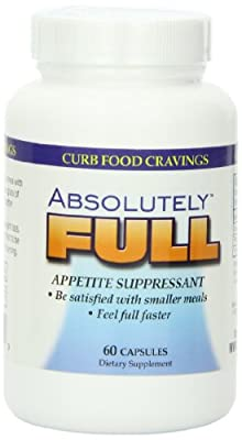 Absolute Nutrition, Curb Food Cravings, Absolutely Full, 60 Caps