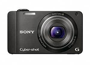 Sony DSC-WX10 Cyber-Shot 16.2 MP Exmor R CMOS Digital Still Camera with 7x Wide-Angle Optical Zoom G Lens and Full HD 1080/60i Video (Black)