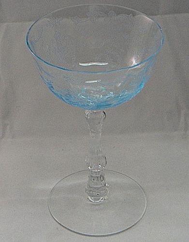 Fostoria Navarre Blue Champagne/Sherbet ()