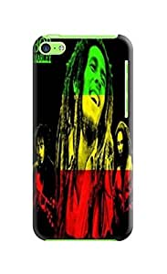 TPU fashionable Series Lightweight Waterproof Bob Marley Protection Case Covers for iphone 5c