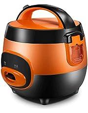 Zhihao (2 litros / 400W / 220V) Inicio de Smart Calidad Olla Interior Cuchara Vapor Y Measuri Copas Pequeños Electrodomésticos (Color: Verde) (Color : Brown)