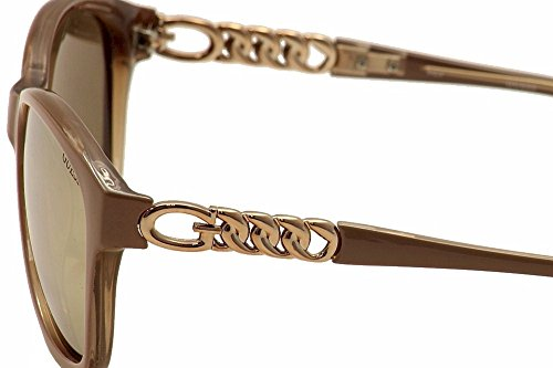 Guess GU7451 Silver Mirror Pink Sonnenbrille r4qHSr