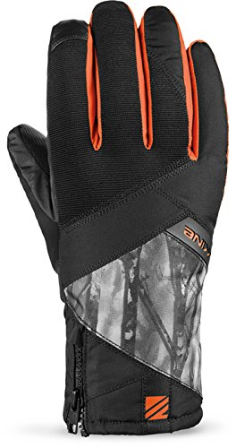 Dakine Men's Bronco Insulation Waterproof Zipper Gloves