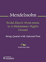 Bridal March (from music to A Midsummer Night's Dream) - Cello