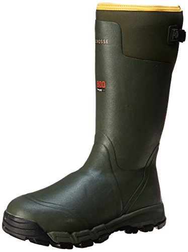 110b326ae99ad LaCrosse Men's Alphaburly PRO 800G Hunting Boot,Green,9 M US ...