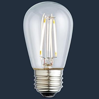 Archipelago LED Filament S14 Light Bulb, Medium Base (E26), Omnidirectional, UL Listed