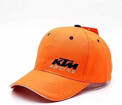 Gorra KTM Racing Team – Official Cap Team KTM MX: Amazon.es: Coche ...