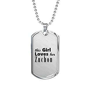 Zuchon - Luxury Dog Tag Necklace Lover Owner Mom Birthday Gifts Jewelry 4