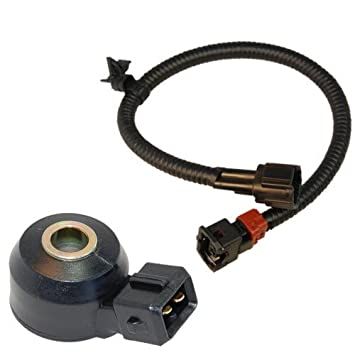 41NFOLhBSxL._SY355_ amazon com hqrp knock sensor w wiring harness for nissan  at eliteediting.co