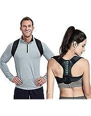hållningskorrigering, rygg rak hållare för män och kvinnor hållningskorrigering rak hållare rygg-mässing justerbar axelrem stödkorrigering rygg rak för nacke, rygg, axel