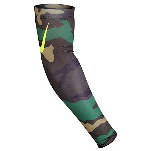 Nike Pro Adult Dri-FIT 3.0 Arm Sleeves(Iguana/Black Forest, S/M)
