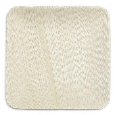 "8"" Compostable Eco Friendly Palm Leaf Plate (Set of 10)"