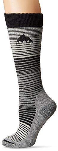 Burton Women's Scout Socks, True Black, (Burton Scout Snowboard Sock)