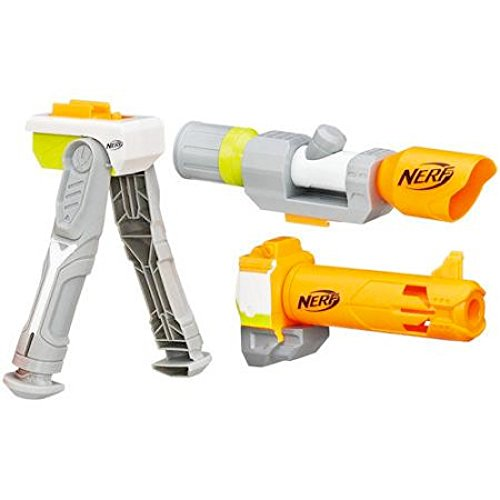 Nerf neon green vulcan ebf-25 with tripod