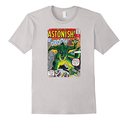 Marvel+Comics+Retro+Shirt Products : Marvel Monsters Unleashed Retro Comic Intro DROOM T-Shirt