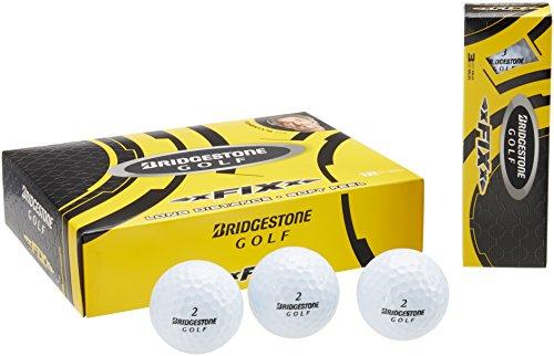 Bridgestone Golf 2014 xFIXx Golf Balls (1 Dozen), White