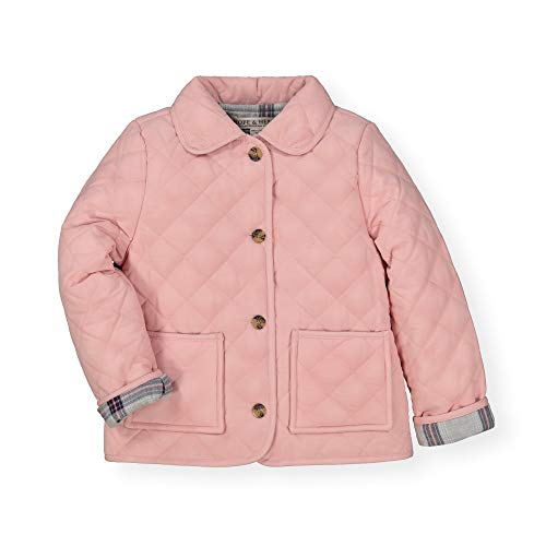 (Hope & Henry Girls' Quilted Barn Jacket Rose Pink)