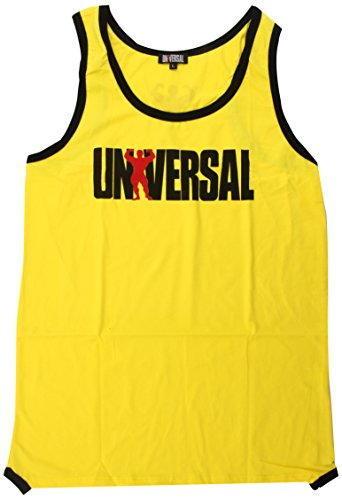 Universal Nutrition Tank Top, Yellow, Large ()