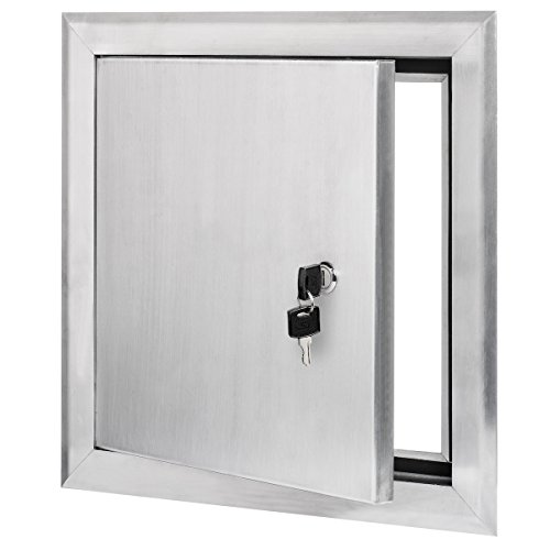 Premier 2400 Series Aluminum Universal Access Door 14 x 14 (Keyed Cylinder Latch)