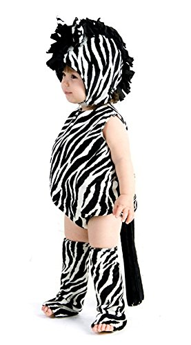 Princess Paradise Baby Zebra Outfit Cute Zoo Animal