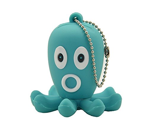 USB 2.0 Flash Drive 8GB Cute Animal Pendrive 3D Memory Stick Octopus for School Students Kids by FEBNISCTE