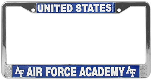 - United States Air Force Academy License Plate Frame. Made in USA