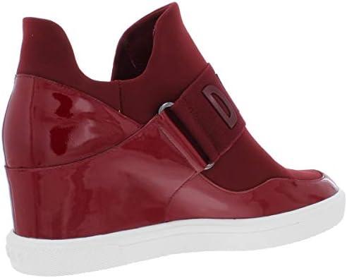 DKNY Cosmos Platform Sneakers RED 9M