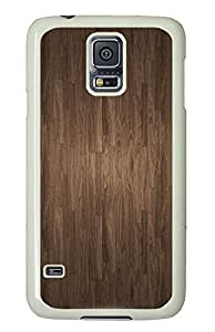 Samsung S5 sparkly case Wood Cool PC White Custom Samsung Galaxy S5 Case Cover