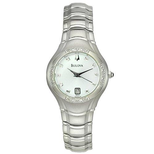 Bulova Women's 96R10 Maestro Diamond Accented Watch