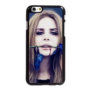 V8O22 Lana del Rey bio U3C5MQ iPhone funda 6 4.7 pulgadas funda caja del teléfono celular negro cubren DG1ZID1LB