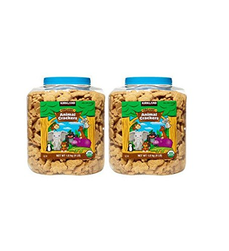 Kirkland Signature™ Usda Certified Organic Animal Crackers 4lb Container 2 - ()