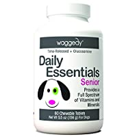 As they age, it is essential for dogs to get the right vitamins to support their growth. These Senior Dog Multivitamins provide a full spectrum of vital minerals and vitamins for mature dogs to promote healthier skin, coat and nails for small...