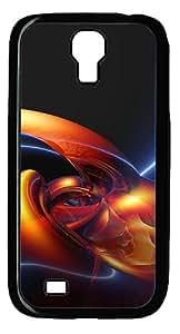 Samsung Galaxy S4 I9500 CaseHigh Definition Abstract PC Hard Plastic Case for Samsung Galaxy S4 I9500 Black