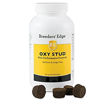 Breeder's Edge Oxy Stud Soft Chews Medium & Lg Dog 60ct