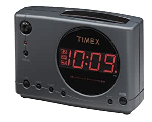 Timex T138 Message Recorder Alarm Clock (Discontinued by Manufacturer)