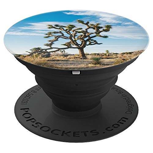 Joshua Tree National Park California Gift Desert Camping - PopSockets Grip and Stand for Phones and Tablets