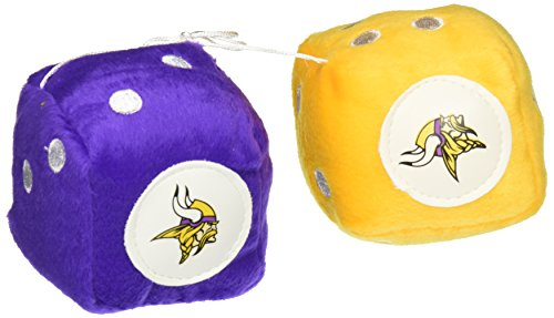 NFL Minnesota Vikings Dados de peluche