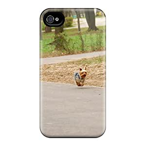 New Cute Puppy Tpu Skin Case Compatible With Iphone 4/4s