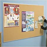 Valu-Tak Series Wall Mounted Bulletin Board Size: 1.5' H x 2' W