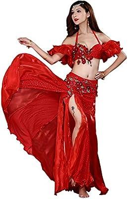 Vestido de baile Conjunto de traje de danza del vientre Faldas for ...