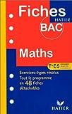 Fiches Bac mathématiques - terminale ES