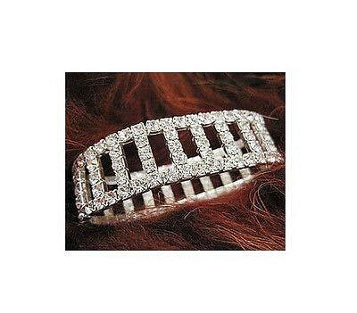 FidgetFidget New Lot Rows Hollow Fancy Stretchy More Styles Crystal Rhinestone Bracelets 12 Pcs #10