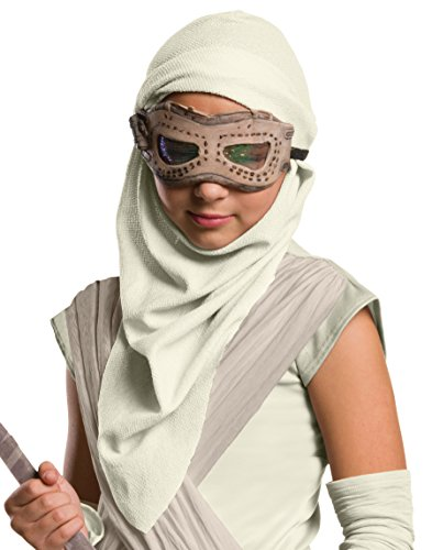 [Rey Eye Mask and Hood Costume Accessory] (Darth Vader Girls Dress Costumes)