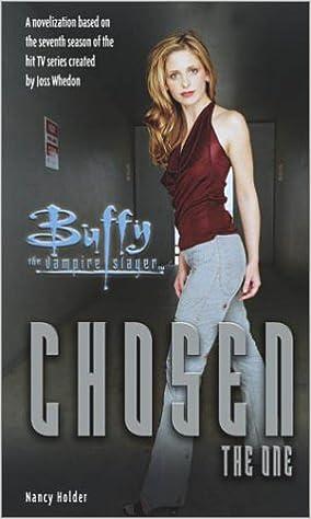 Amazon Buffy The Vampire Slayer Chosen 9780689866258 Nancy