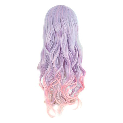 Review MapofBeauty 28″ Wavy Multi-Color