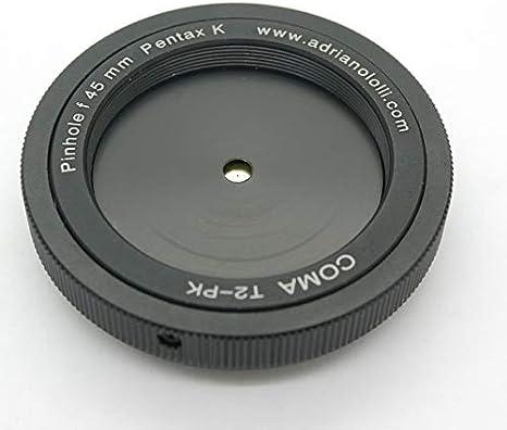 Objetivo con Orificio estenopeico, pinhole, cámara Oscura para ...