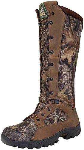 Rocky Men's Waterproof Snakeproof Hunting Boot Knee High, Mossy Oak Breakup, 9.5 W US ()