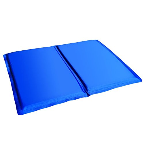 Showlovein Pet Cooling Mat Pad for Dogs Cats, Indoor & Outdoor Pet Mat, Ice Cooler Summer Sleeping Bed by Showlovein (Image #5)